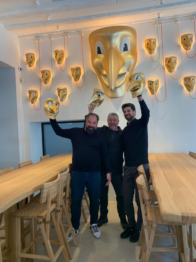 Philippe Starck and his team @AMOR