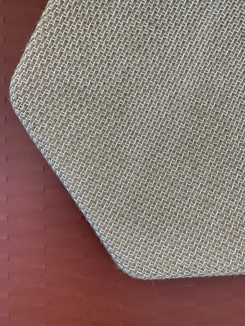 Flax acoustic panel, PLA by Varian