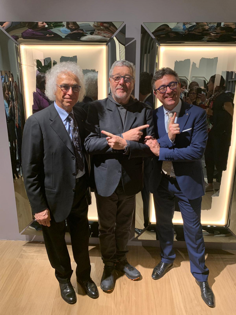 with Daniele Livi and Vittorio Livi